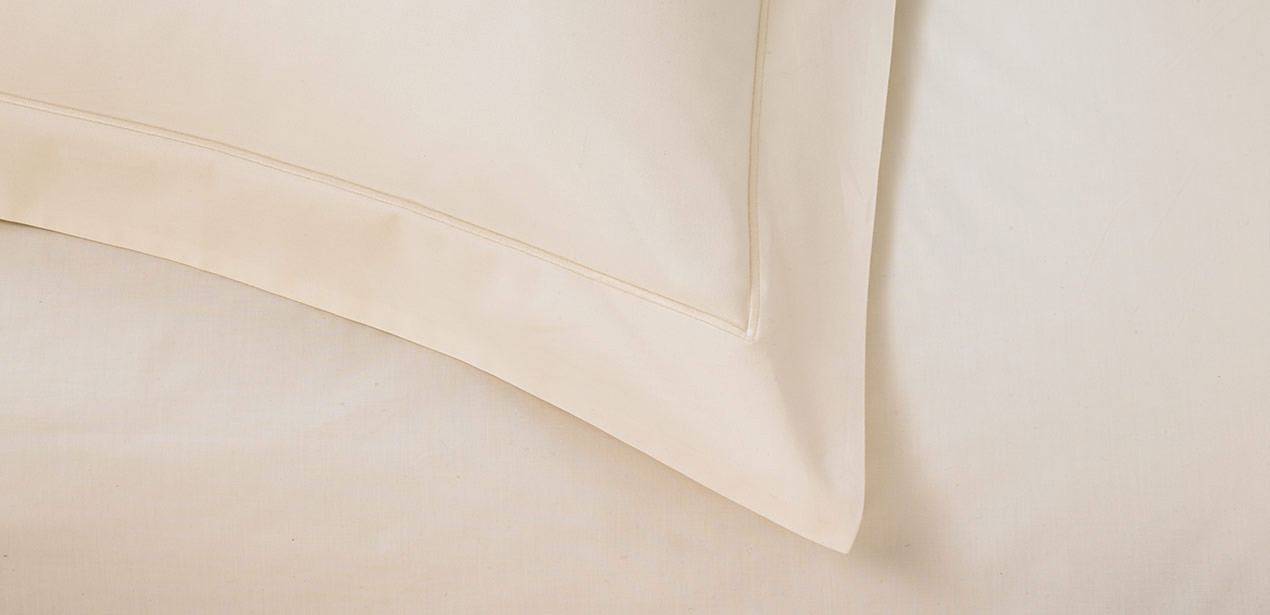 Ivory Percale Linen Set
