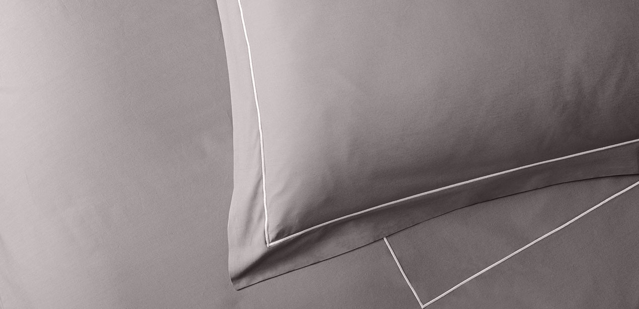 Platinum Percale Linen Set