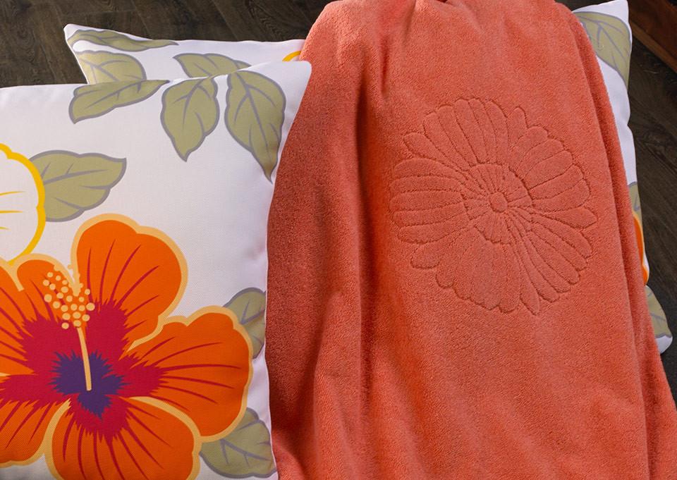 Coral Beach & Pool Towel