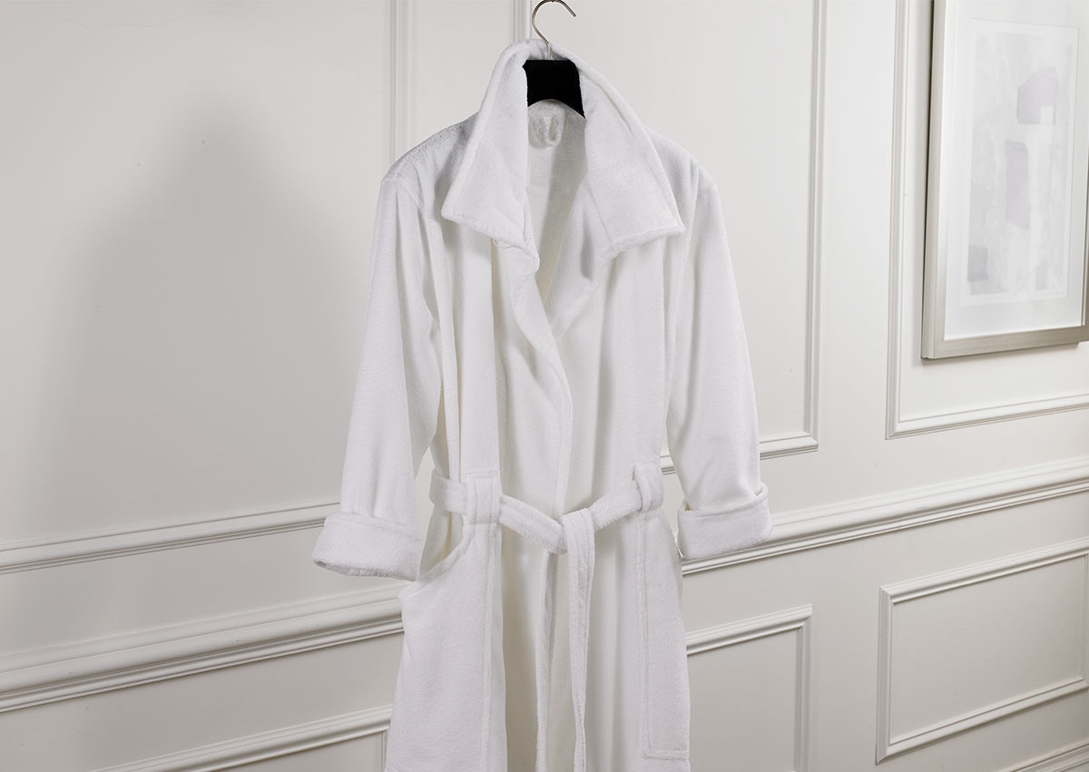 Funnel Collar Robe