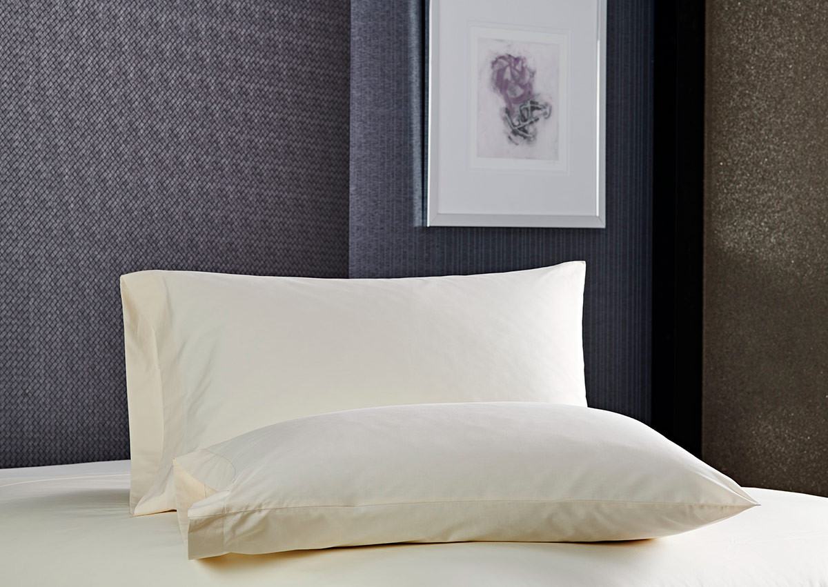 Ivory Percale Pillowcases
