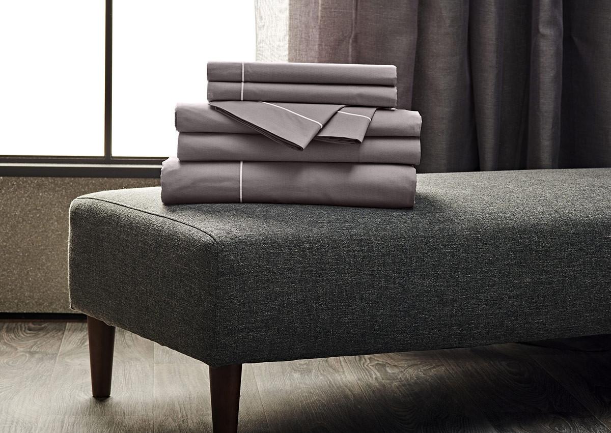 Platinum Percale Linen Set