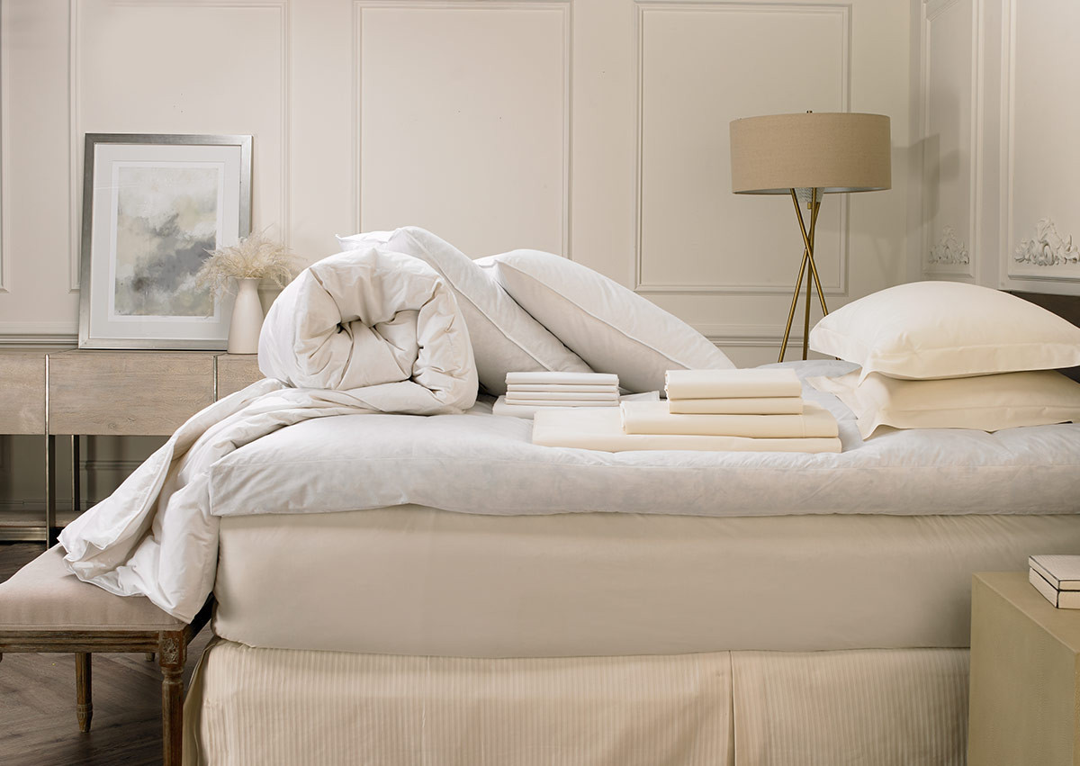 Sofitel MyBed & Ivory Deluxe Bedding Set