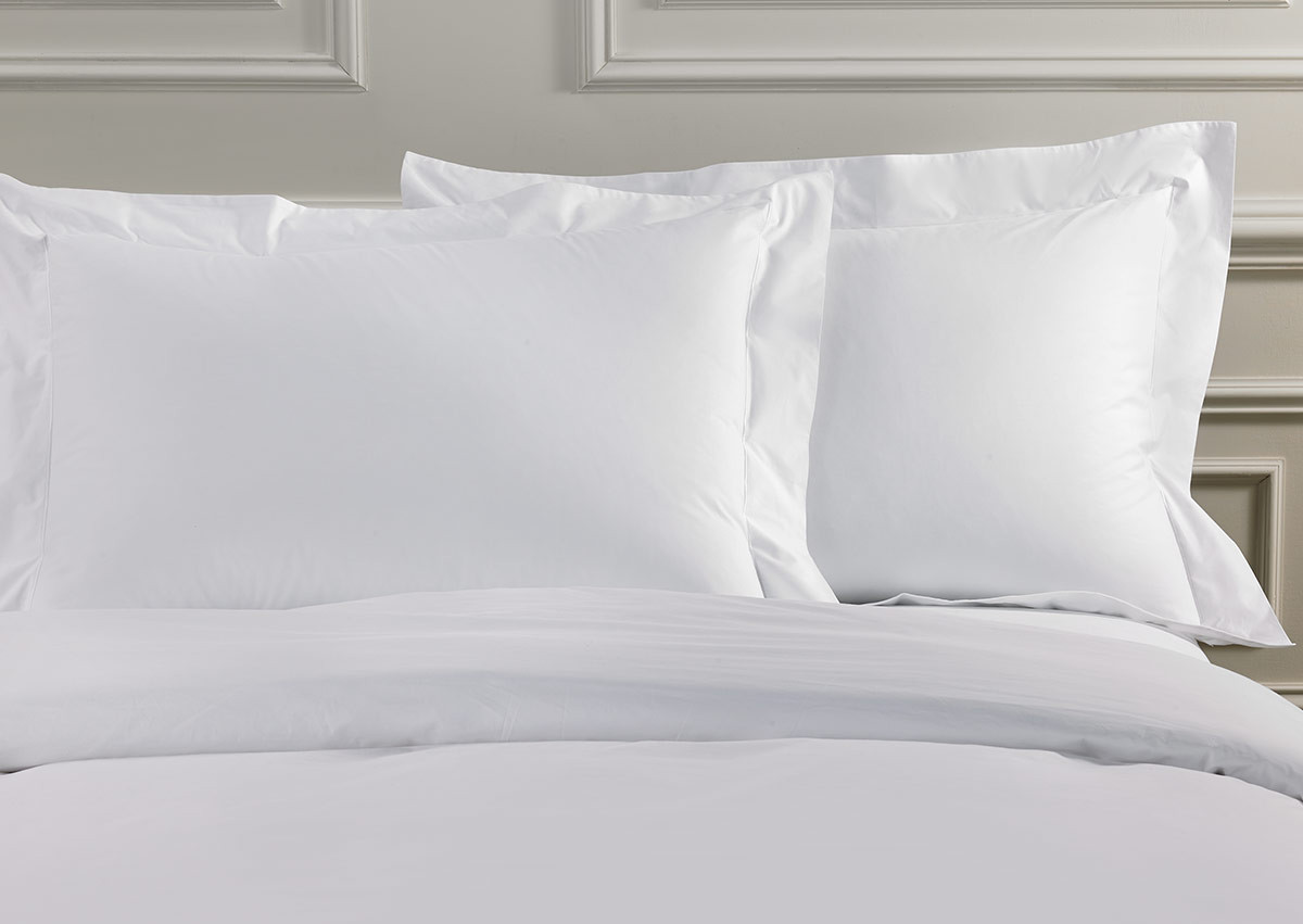 White Deluxe Pillow Shams