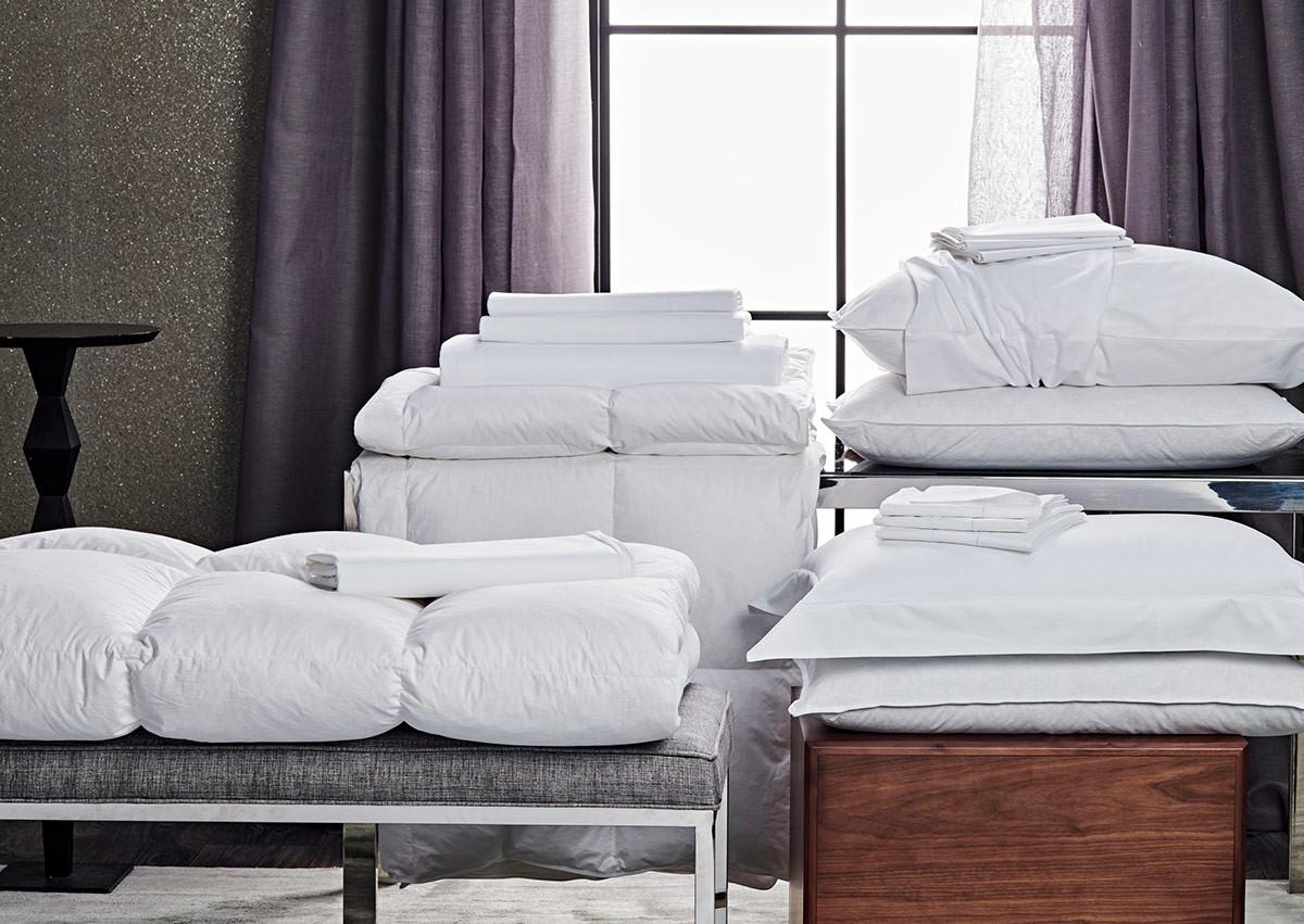 White Percale Bedding Set