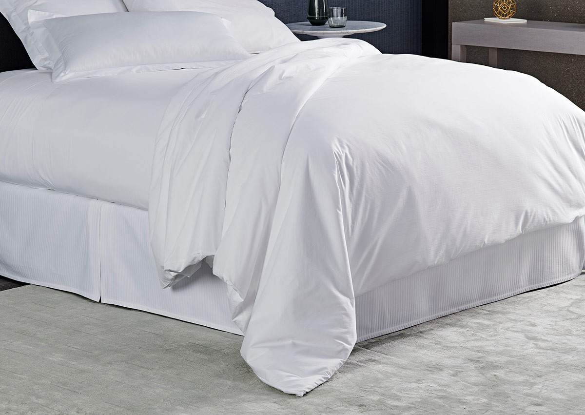 White Percale Duvet Cover
