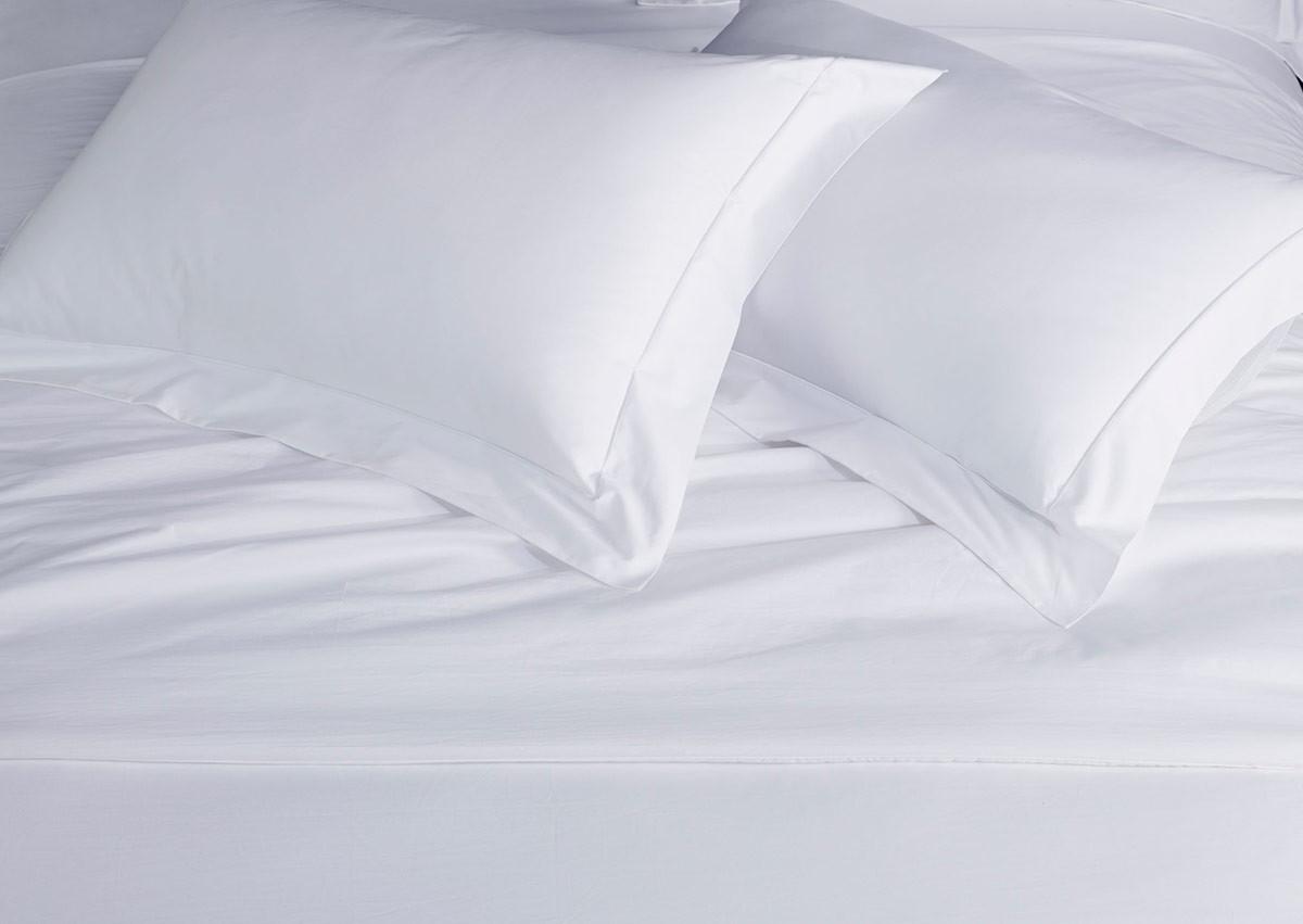 White Percale Pillow Shams