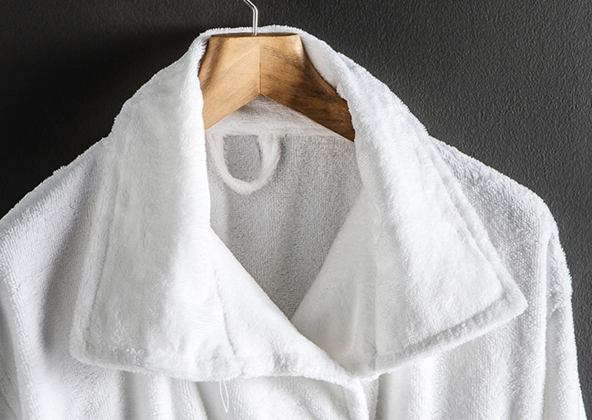 Funnel Collar Robe