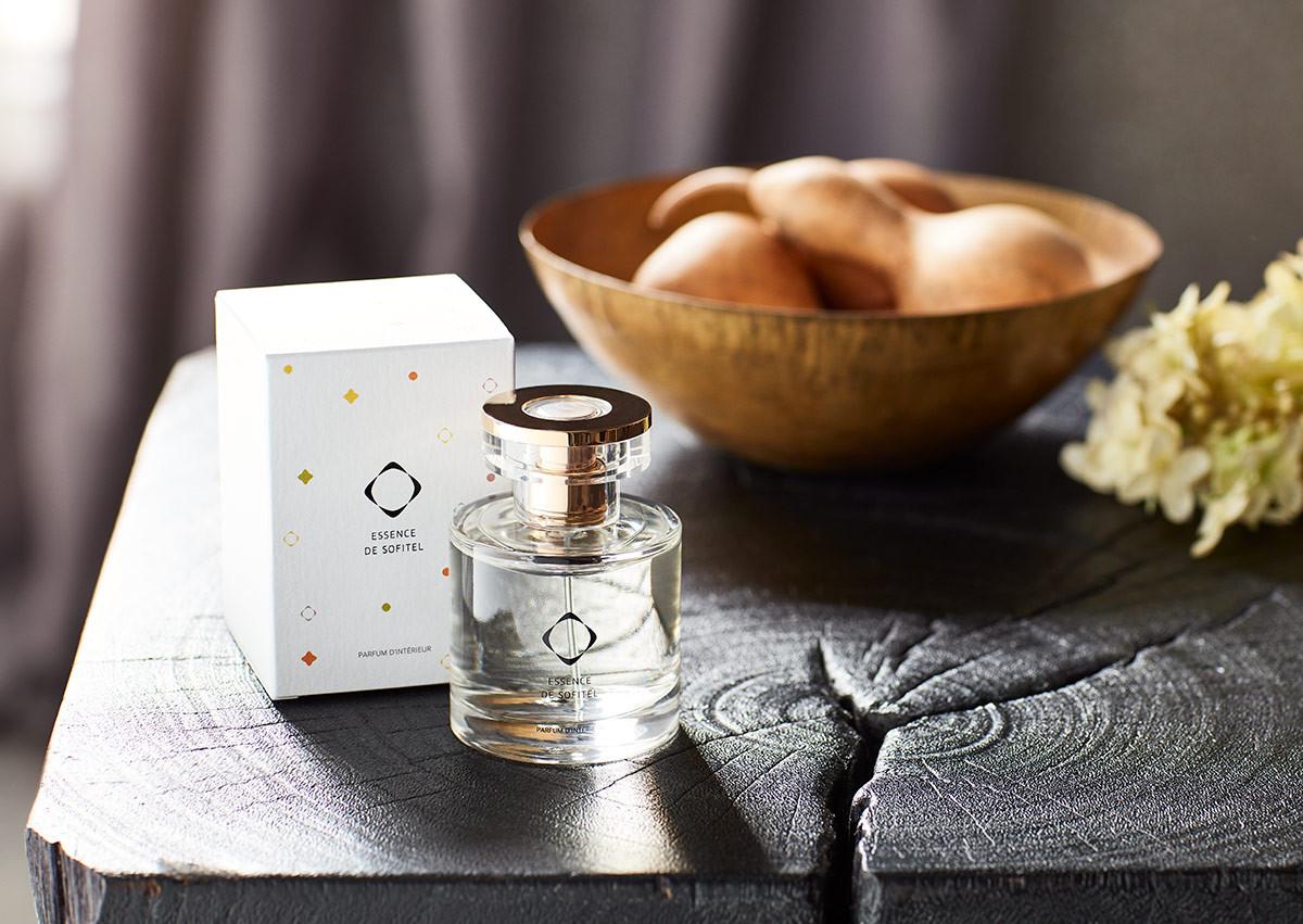 parfum d'ambiance essence de sofitel | parfum intérieur luxe hôtel