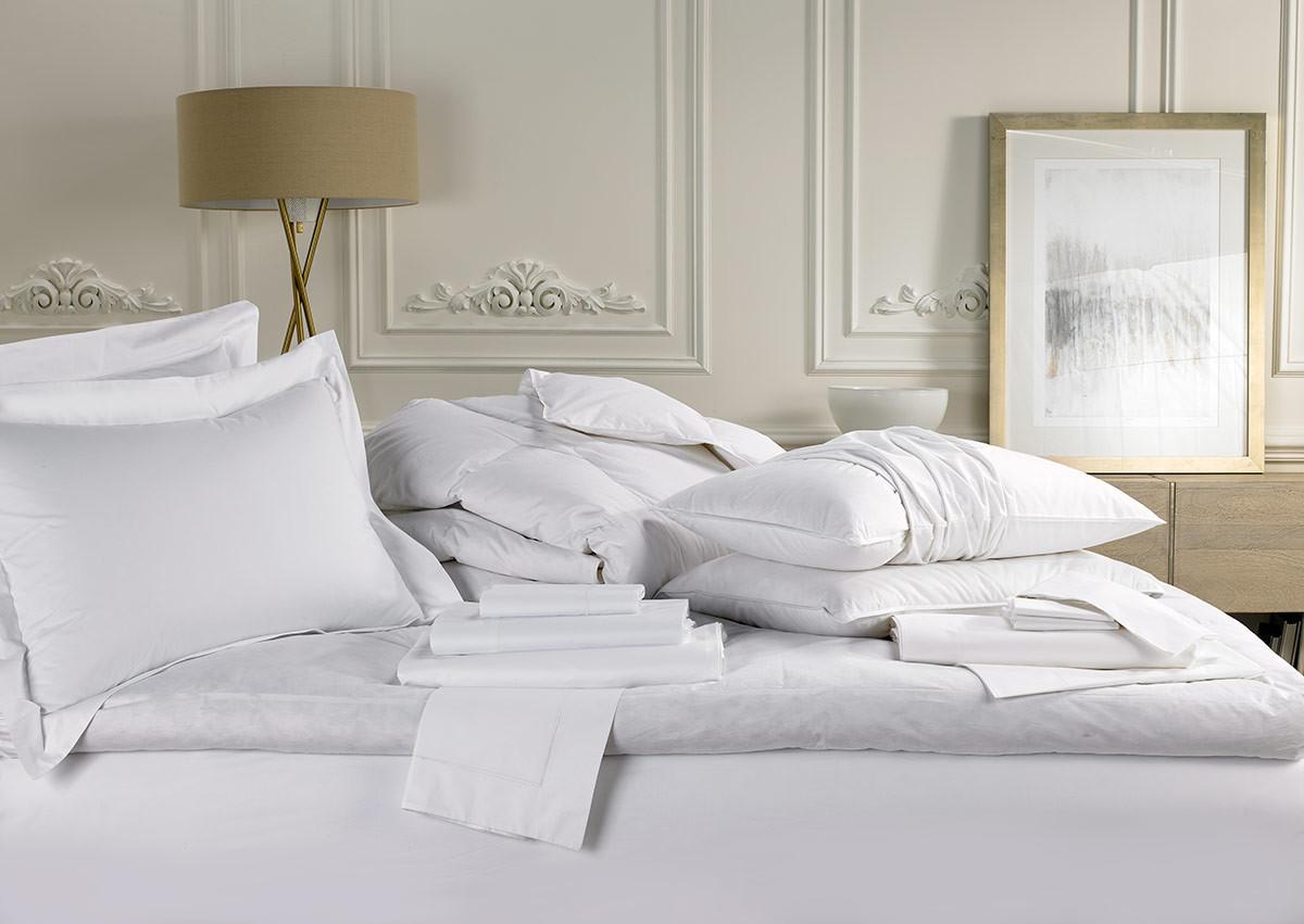 Ensemble Sofitel Mybed Deluxe Blanc Prix Achat Lit Hotel Luxe