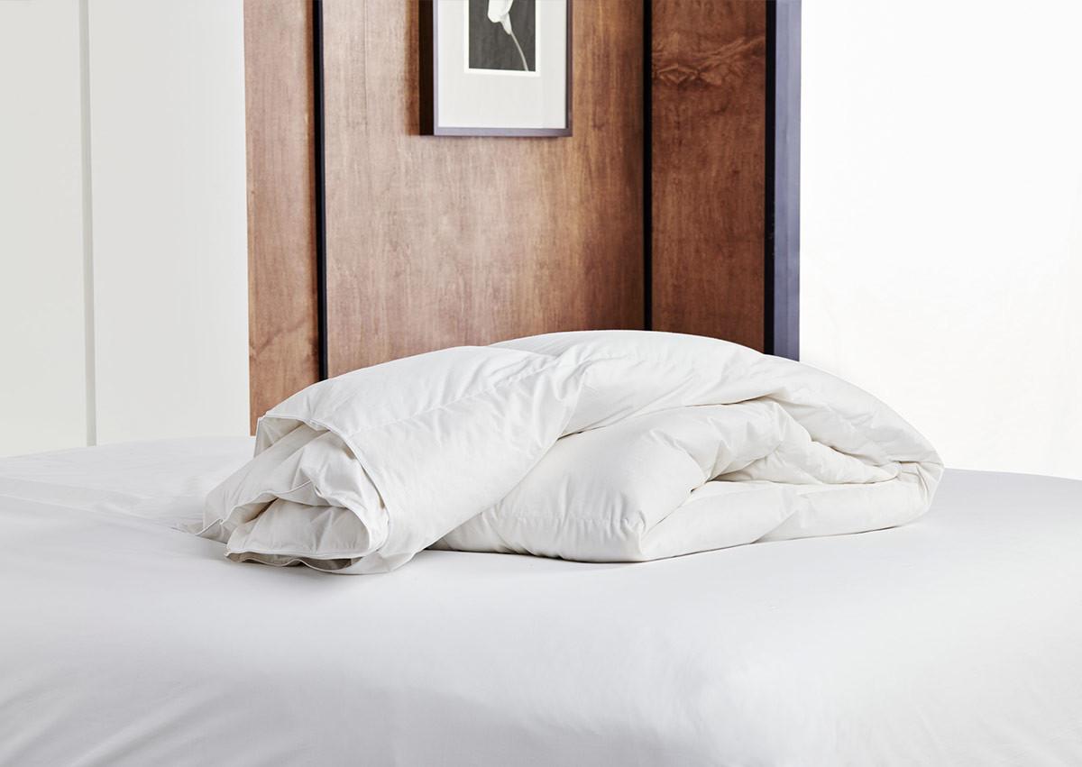couette l g re en duvet de canard couette naturelle t. Black Bedroom Furniture Sets. Home Design Ideas