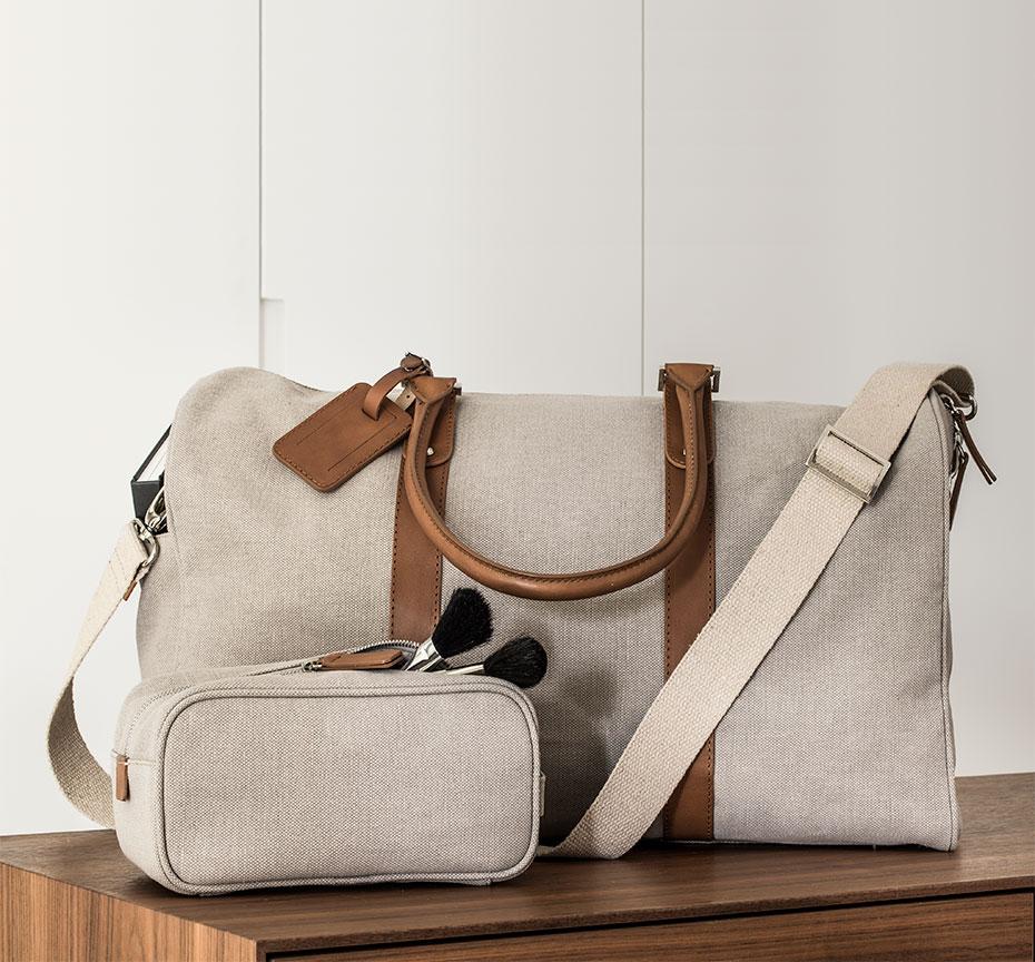 Collection Voyage. Des sacs exclusifs pour Sofitel, pour vous.