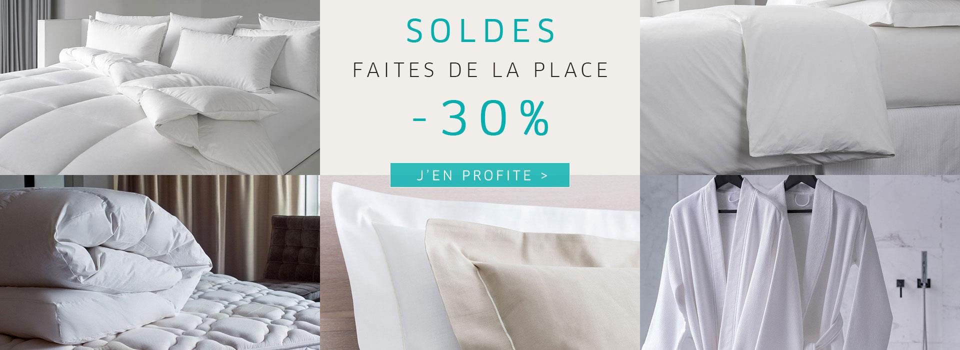 SOLDES   FAITES DE LA PLACE   -30%
